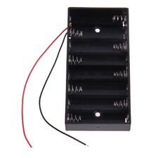 AA Wired Battery Box in 1,2,4,6,8 AA (1.5,3,6,9,12V) Cell Battery Storage Holder