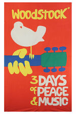 WOODSTOCK TAPESTRY-3 DAYS OF PEACE & MUSIC-60 X 90-Wallhanging,LOOPS