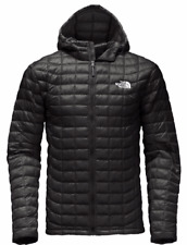 The North Face mens THERMOBALL TNF Black Hoodie Jacket Medium