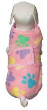 Dog Fleece Cover Sweater Coat Pink Cha-Cha Couture - XS