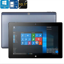 10.1inch HD 2GB/32GB Quad Core Android Windows 10 Dual OS Tablet PC Aluminium