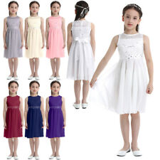 Girls Princess Dresses Kids Birthday Party Wedding Pageant for Flower Girl Dress