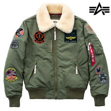 Alpha Industries Men's Winter Jacket Injector III Patch S to 3XL NEW