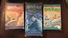 HARRY POTTER BOOKS ON AUDIO CASSETTE ~ YOU CHOOSE ~ 1+ SHIPPING DISCOUNT