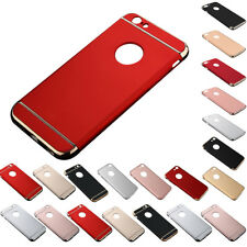 3 In 1 Shockproof Hybrid Electroplate Slim Hard Case Cover Protector For iPhone