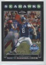 2008 Topps Chrome X-Fractor TC131 Matt Hasselbeck Seattle Seahawks Football Card