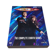 Doctor Who - Series 4 - Complete (DVD 2008,6 -Disc Set) season 4 fourth 4th four