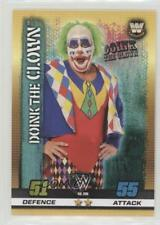 2017 Topps WWE Slam Attax 10th Edition 296 Legends Donk the Clown Wrestling Card
