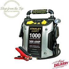 Stanley Starter Jump Peak Battery Amp Car Charger Air Compressor Accessories New