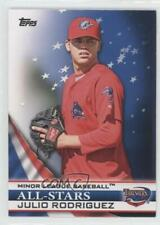 2012 Topps Pro Debut All-Stars #AS-JR Julio Rodriguez Clearwater Threshers Card