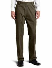 Dockers Men's Easy Khaki D3 Classic-Fit Flat-Front Pant Rifle Green