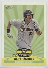 2012 Topps Heritage Minor League Edition Prospect Performers #PPGS Gary Sanchez