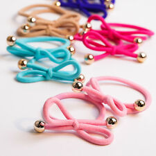 Rubber Band Hair Rope Knotted Hair Ring with Sseveral Colors