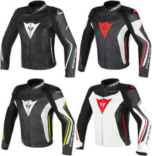 Dainese Mens Assen Armored Leather Jacket