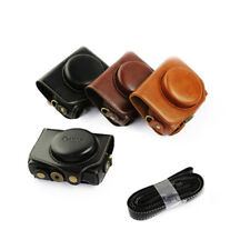 FH- HK- Mini Portable Faux Leather Cover Protective Skin Camera Case for Canon G