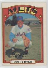 1972 O-Pee-Chee #127 Duffy Dyer New York Mets Baseball Card