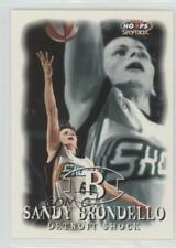 1999-00 WNBA Hoops Skybox 41 Sandy Brondello Detroit Shock (WNBA) RC Rookie Card