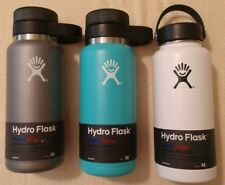 Original 32oz Hydro Flask Wide Mouth/Growler Stainless Steel Water Bottle