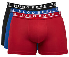Hugo Boss Cotton Stretch Boxer Brief 3-Pack - Red/Blue/Black