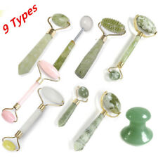 9 Types Facial Massage & Jade Stone Anti-aging Face SPA Massage Roller