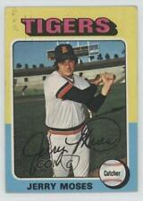 1975 Topps #271 Jerry Moses Detroit Tigers RC Rookie Baseball Card
