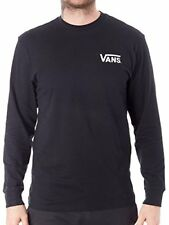 Vans OTW Classic Long Sleeve Tee (Black/White) Men's Off The Wall Skate Shirt
