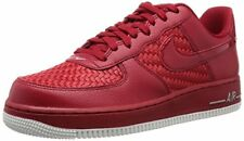 NIKE Men's Air Force 1 '07 LV8 Basketball Shoe, Gym Red/Gym Red-summit White-ch
