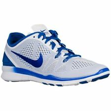 NIKE Women's Free 5.0 TR Fit 5 Training Shoe, White/Game Royal