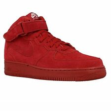 Nike Men's Air Force 1 Mid '07 Basketball Shoe, Gym Red/Gym Red-white
