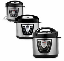 Electric Power Pressure Cooker XL™ Canner Slow Pot Digital Stainless Steel Gift