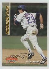 1994 Church's Chicken Hometown Stars 16 Ryne Sandberg Chicago Cubs Baseball Card