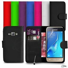 Samsung Galaxy J1 Mini FITS Case Premium Leather Wallet Flip Case Mini Stylus SP