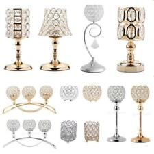 Bling Crystal Votive Candlesticks Candle Holder Wedding Banquet Centerpieces