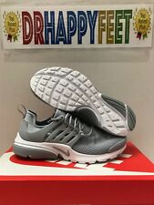 Nike Air Presto NEW Womens Running Shoes Size Wolf Grey White 878068 006