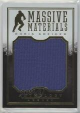 2015-16 Panini Anthology Massive Materials #MM-37 Chris Kreider New York Rangers