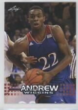 2014 Leaf National Convention #AW-02 Andrew Wiggins Kansas Jayhawks Rookie Card