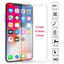 Clear HD 9H Tempered Glass Screen Protector Guard Cover Film Shield For iPhone X