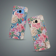 Case Cover For Samsung Galaxy S9 Plus S8 S7 S6 Edge Note 8 9 Roses Floral TPU