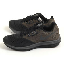 Nike Wmns Zoom Winflo 4 Anthracite/Dark Grey-Black Running Shoes 898485-004