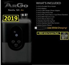 2018 New Arizer ArGo Portable + FREE Dual Battery Charger and Extra Battery