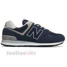 New Balance 574 ML574EGN Mens Shoes Navy Suede Nylon Running Casual Sneakers