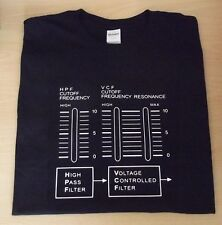 RETRO SYNTH SYSTEM 100 102 FILTER SYNTH DESIGN T SHIRT S M L XL XXL