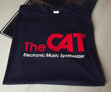 RETRO SYNTH SYNTHESIZER OCTAVE THE CAT T SHIRT DESIGN S M L XL XXL