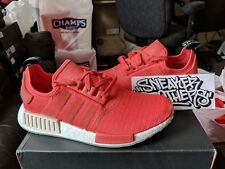 Adidas NMD_R1 Runner W Nomad Women's Trace Scarlet Red Pink White Tan CQ2014