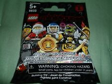 Sealed Lego 8883 Series 8 Your Choice Character Diver-Santa-Business Man-Manbat!