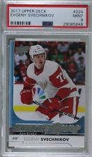 2017 Upper Deck 224 Young Guns Evgeny Svechnikov PSA 9 MINT Detroit Red Wings RC