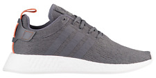 Adidas NMD R2 BY3014 Grey Future Harvest White Mens
