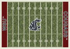 Washington State University Football Field Rug