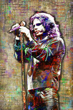Jim Morrison of The Doors Poster, Doors Tribute Poster Free Shipping