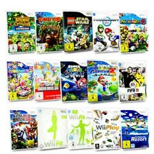 Wii Game Donkey Kong Mario & SONIC NFS Super Smash Wii Fit Wii Sports Zelda